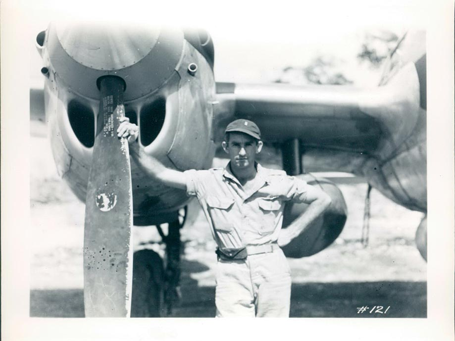 Captain Forster Philippine Islands 1945.