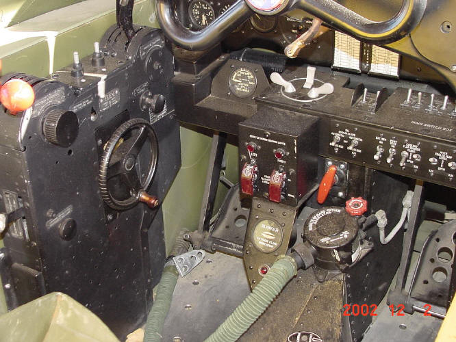 P-38 Cockpit Display