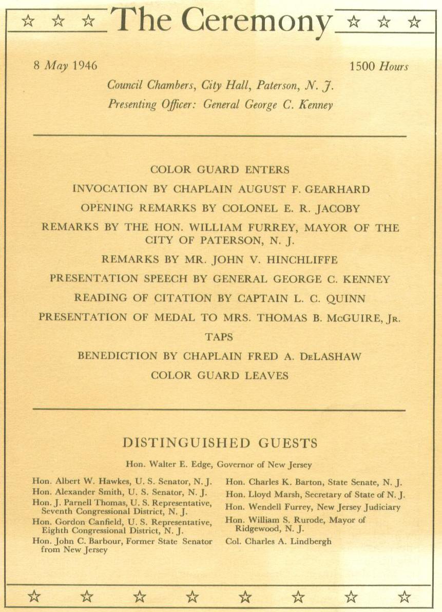McGuire Ceremony